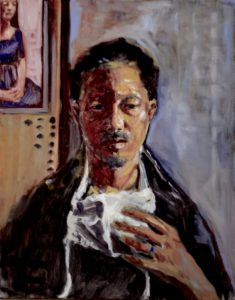 Self Portrait of Je, American Contemporary Figurative Painter